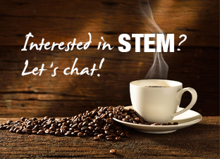 Interested in STEM, let's chat!